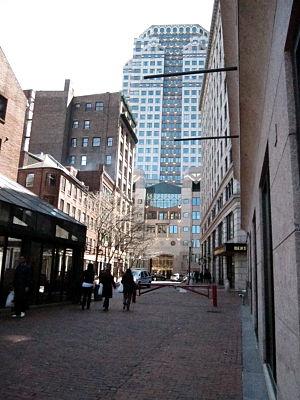 Merchants Row (Boston) - Image: 2010 Merchants Row Boston 20