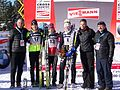 2011 Rogla FIS Cross-Country World Cup, podium (6).jpg