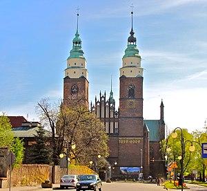 Głubczyce - Church of the Nativity of Virgin Mary