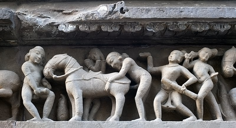 File:20120303 zoophilia Lakshmana Temple Khajuraho India (panoramic version).jpg