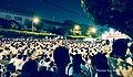 2013-8-3 臺灣總統府前白衫軍「八月雪」25萬公民抗議 Citizen Protest against abuse of power in front of TAIWAN's Presidential Office Building.jpg