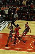 20130403 MCDAAG Aaron Gordon alley oop from Aaron Harrison (3).JPG