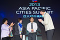 2013 Asia Pacific Cities Summit - mayors with delegates (11198883854).jpg