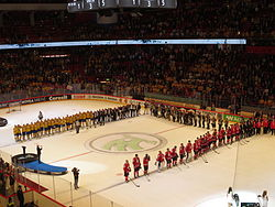 2013 IIHF World Championship Final teams.JPG