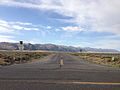 2014-07-28 07 56 26 View west along Nevada State Route 722 (Carroll Summit Road) from the west end at the junction with U.S. Route 50 in Lander County, Nevada.JPG