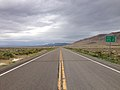 2014-08-11 13 13 33 View west along U.S. Route 50 about 4.0 miles east of the Eureka County line in White Pine County, Nevada.JPG
