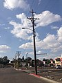 2014-09-22 15 44 44 Utility pole and street light on 3rd Street in Elko, Nevada.JPG