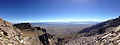 2014-09-24 10 31 46 Panorama east and southeast from the east ridge of Hole-in-the-Mountain Peak, Nevada.JPG
