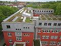 20140614 xl wiki 6785 GLS Bank, Christstraße 9, 44789 Bochum, Solaranalgen auf dem Dach.JPG