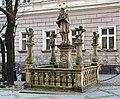2014 Kłodzko, posąg św. Jana Nepomucena, 02.jpg