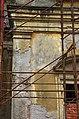 2014 giu Villa Pellegrini Marioni Pullè, Chievo, Verona, photo Paolo Villa wing, Doric - Tuscan order, pilaster strip, circular tympanum, window FOTO6309BIS.JPG