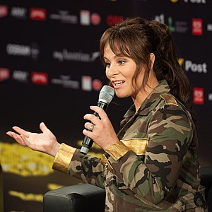 Netherlands in the Eurovision Song Contest 2015 - Trijntje Oosterhuis during a press meet and greet