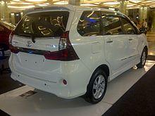 Toyota Avanza Wikipedia La Enciclopedia Libre