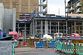 2016 Woolwich Crossrail station construction site 03.jpg