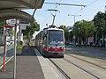2017-08-26 (025) Vienna tram type ULF B1 line 31 at Brünner Straße, Vienna.jpg