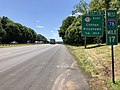 2018-06-14 13 55 51 View west along Interstate 78 and U.S. Route 22 (Phillipsburg-Newark Expressway) between Exit 17 and Exit 15 in Clinton, Hunterdon County, New Jersey.jpg