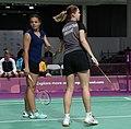 2018-10-12 Badminton Mixed International Team Final match 1 at 2018 Summer Youth Olympics by Sandro Halank–011.jpg