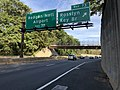 2018-10-19 15 56 36 View east along Interstate 66 (Custis Memorial Parkway) at Exit 73 (Rosslyn, Key Bridge) in Arlington County, Virginia.jpg