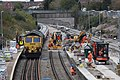 2018 at Filton Abbey Wood - relaying the main line (38) 66509.JPG