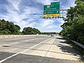 2019-05-21 11 51 48 View north along Interstate 97 (Glen Burnie Bypass) at Exit 15B (Maryland State Route 176 WEST, Dorsey Road, BWI Thurgood Marshall Airport) in Ferndale, Anne Arundel County, Maryland.jpg