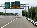 2019-05-29 12 00 59 View south along Interstate 95 at Exit 150B (Virginia State Route 619 WEST, Prince William Forest Park) in Triangle, Prince William County, Virginia.jpg