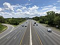 2019-07-18 13 02 21 View southeast along Interstate 695 (Baltimore Beltway) from the overpass for U.S. Route 1 Alternate (Washington Boulevard) in Arbutus, Baltimore County, Maryland.jpg