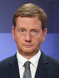 Michael Kretschmer German politician (CDU), Minister President of Saxony
