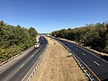 2019-10-10 10 38 38 View north along Maryland State Route 5 (Branch Avenue) from the overpass for U.S. Route 301 southbound (Crain Highway) in Brandywine, Prince George's County, Maryland.jpg