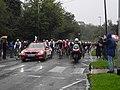2019 UCI World Championships, men's road race start (cropped).jpg