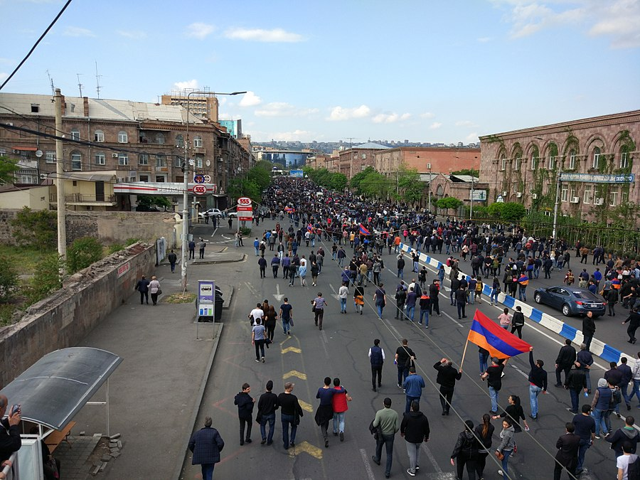 22.04.2018 Protest Demonstration, Yerevan 1.jpg