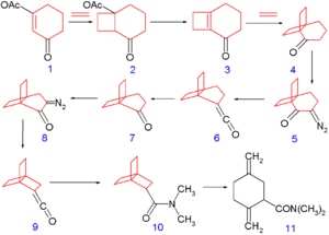 2.2.2-Propellane - Image: 222propellane Synthesis