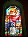 230313 Stained-glass windows in Saint Louis church in Joniec - 04.jpg