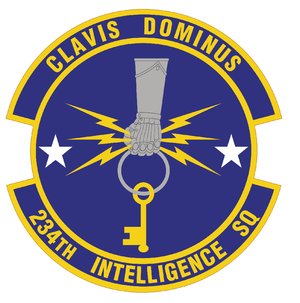 234th Intelligence Squadron - Image: 234 Intel Sq emblem
