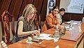 25 de noviembre de 2015 - Develación de sello postal a prósito de la no violencia hacia la mujer. (23194827052).jpg