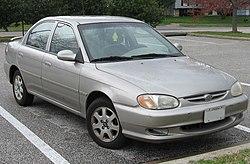Kia Sephia II (2002-2004)