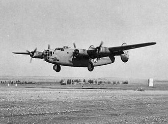 Nevada Test and Training Range (military unit) - 98th Bomb Group B-24 shot down on low-level Ploesti mission