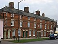 3 story terraced housing on Hall St, Long Melford - geograph.org.uk - 691028.jpg