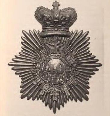 40th Regiment of Foot Badge