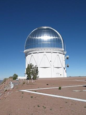 Cerro Tololo Inter-American Observatory - Image: 4m Victor M. Blanco Telescope