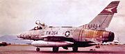 510th TFS North American F-100D-90-NA Super Sabre 56-3264