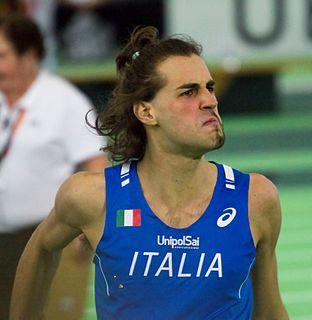 Gianmarco Tamberi Italian high jumper