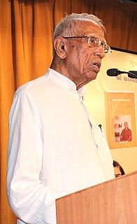 Nagindas Sanghavi Indian political writer and columnist