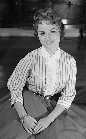 Anita Thallaug - Anita Thallaug in 1957