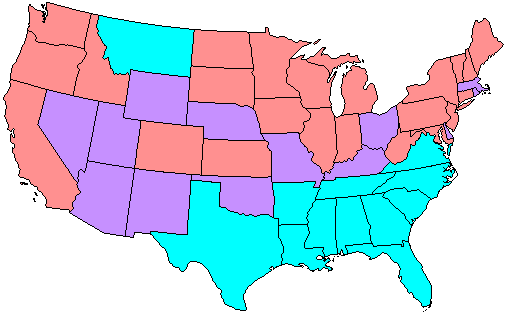 67th US Senate composition