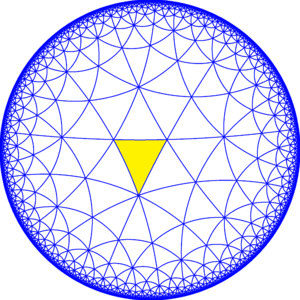 Truncated trioctagonal tiling - Image: 832 symmetry a 00
