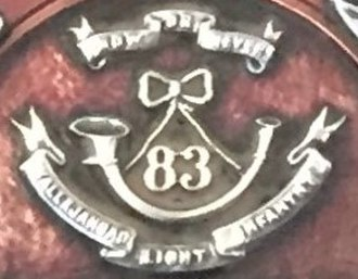 83rd Wallajahbad Light Infantry - Insignia of the 83rd Wallajahbad Light Infantry
