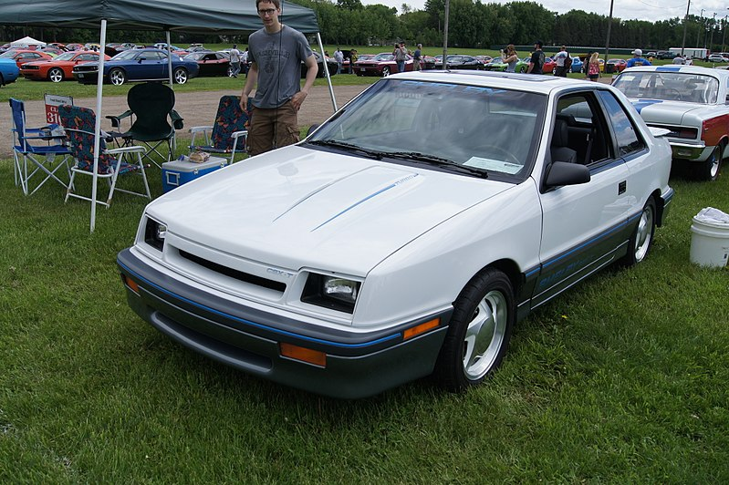 File:88 Dodge Shadow Shelby CSX-T (8937107133).jpg