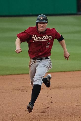 Darin Erstad - Erstad with the Houston Astros