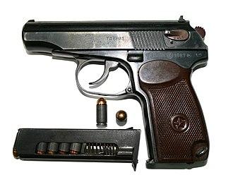 Makarov pistol semi-automatic pistol model by Nikolay Fyodorovich Makarov