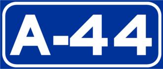 Autovía A-44 - Image: A 44Spain